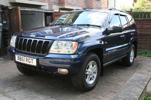 2000 Excellent Jeep Grand Cherokee ltd 4.0ltr petrol For Sale