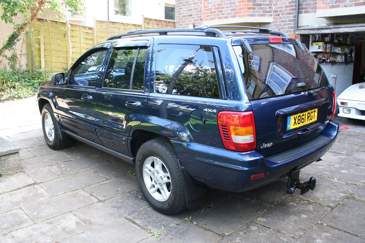 2000 Excellent Jeep Grand Cherokee ltd 4.0ltr petrol For Sale (picture 2 of 6)