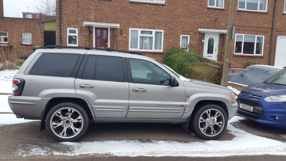 2001 Grand Cherokee lpg conversion For Sale (picture 1 of 4)