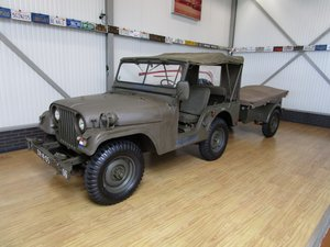 1955 Jeep Nekaf M38A1 with Polynorm trailer For Sale