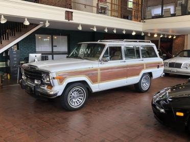 1990 Grand Wagoneer SUV = clean Ivory(~)Tan driver $21.9k For Sale