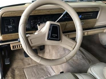 1990 Grand Wagoneer SUV = clean Ivory(~)Tan driver $21.9k For Sale (picture 6 of 6)