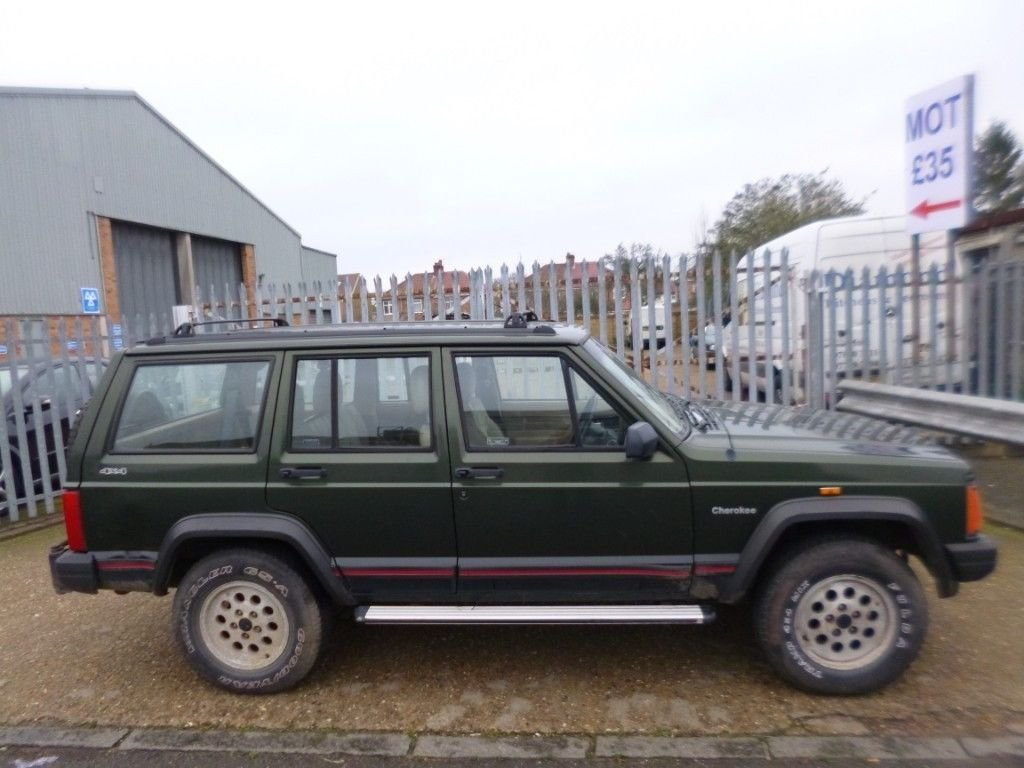 1995 (M reg) Jeep Cherokee 2.5 TD Sport 4x4 For Sale (picture 1 of 6)