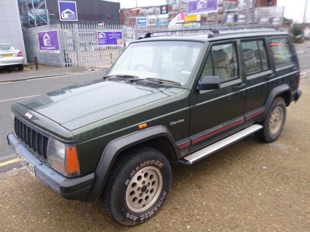 1995 (M reg) Jeep Cherokee 2.5 TD Sport 4x4 For Sale (picture 3 of 6)
