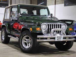 1998 R Jeep Wrangler TJ 4.0 Sahara Manual For Sale
