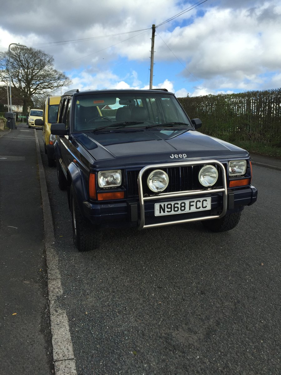 1996 Jeep Cherokee N reg  For Sale (picture 4 of 5)