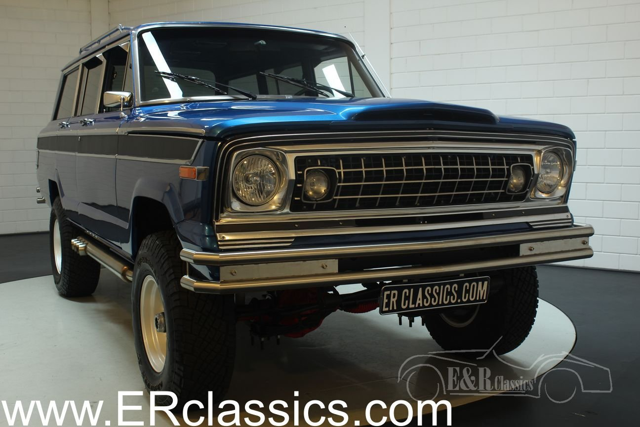 Jeep Wagoneer 1976 Body off restored For Sale (picture 1 of 6)