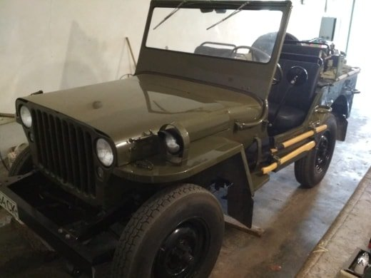 1942 Jeep MB 1941 ( soviet Army) For Sale (picture 1 of 6)