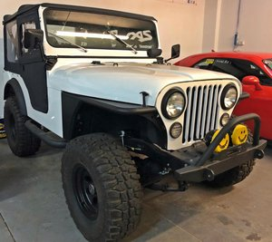 1975 Jeep CJ-5 Frame off restoration No rust