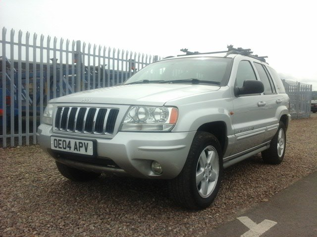 2004 Jeep Grand Cherokee V8 Overland at Morris Leslie Auction For Sale by Auction (picture 1 of 6)