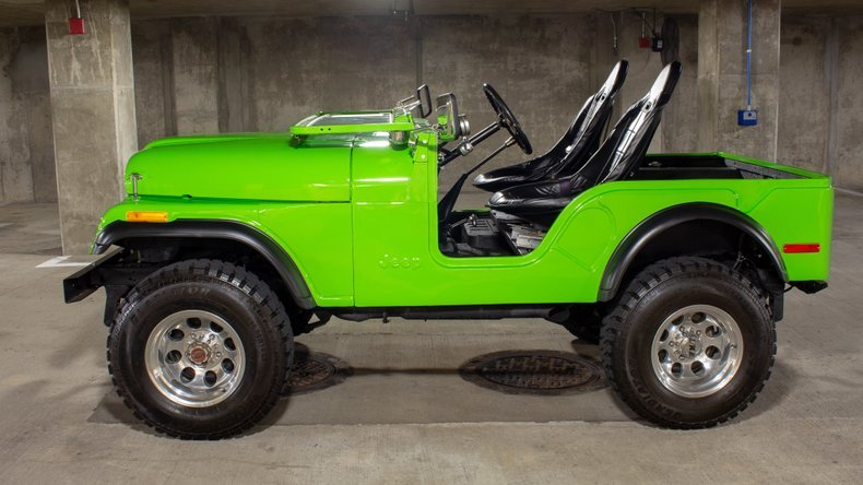 1974 Jeep CJ5 4x4 = Fresh 304 V-8 Lift-Kit Restored $24.9k For Sale (picture 1 of 6)