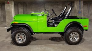 1974 Jeep CJ5 4x4 = Fresh 304 V-8 Lift-Kit Restored $24.9k For Sale