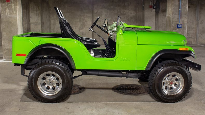 1974 Jeep CJ5 4x4 = Fresh 304 V-8 Lift-Kit Restored $24.9k For Sale (picture 2 of 6)