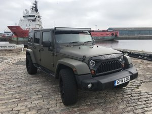 2014 Jeep wrangler 2.8 crd sahara unlimited For Sale