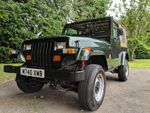 1995 Jeep Wrangler YJ Sahara 4.0L Manual 2.5