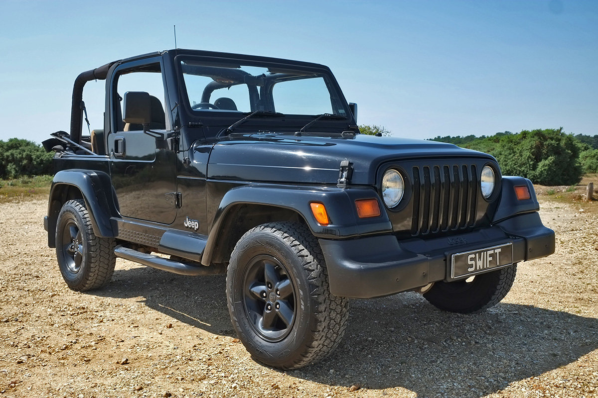 1997 Jeep Wrangler Sahara 4.0 Manual Classic 4x4 For Sale (picture 1 of 6)