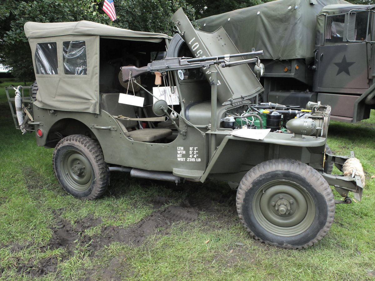 1960 Willys-Hotchkiss WW2 dressed Jeep For Sale (picture 1 of 6)