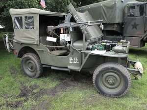 1960 Willys-Hotchkiss WW2 dressed Jeep