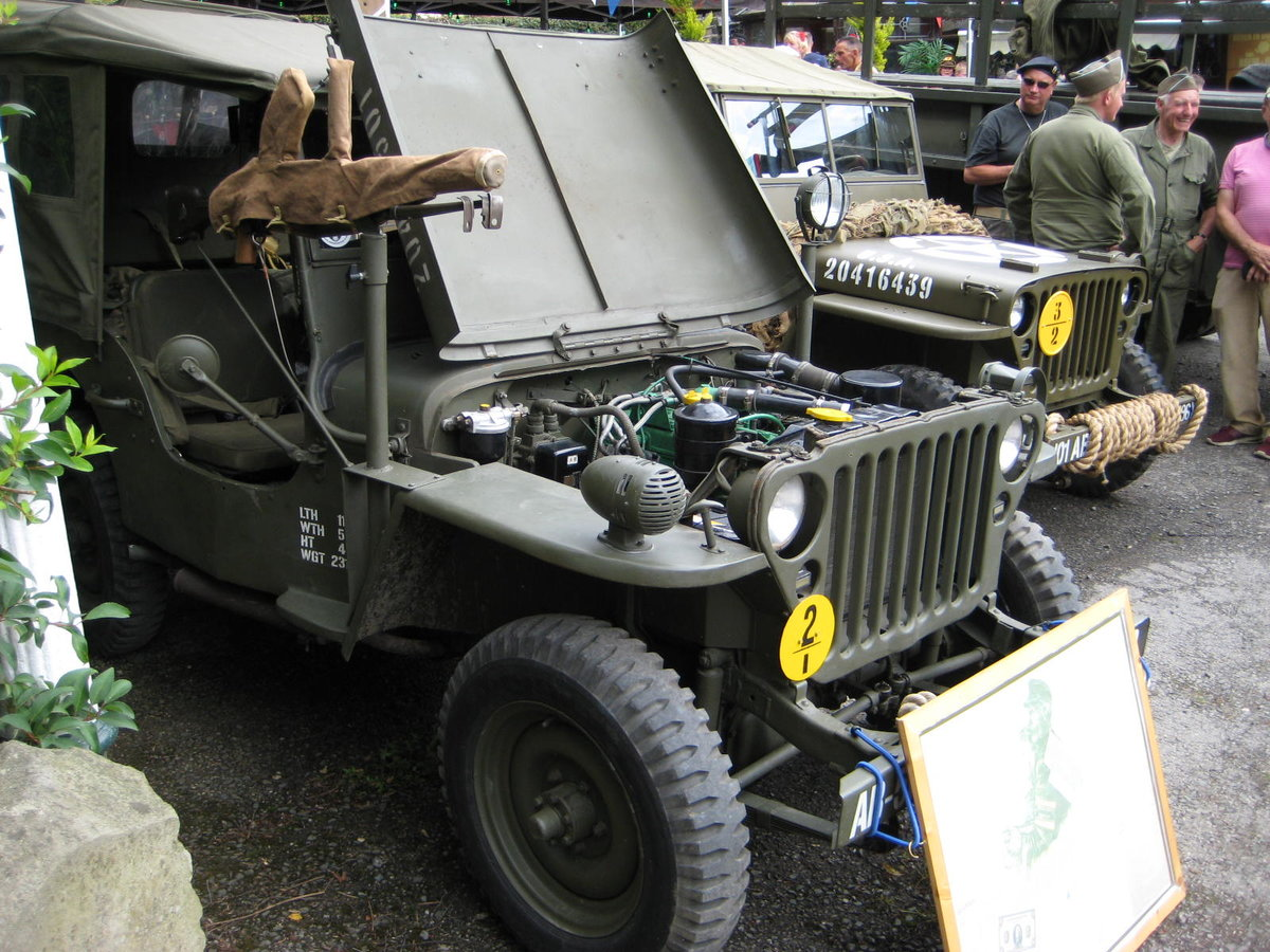 1960 Willys-Hotchkiss WW2 dressed Jeep For Sale (picture 2 of 6)
