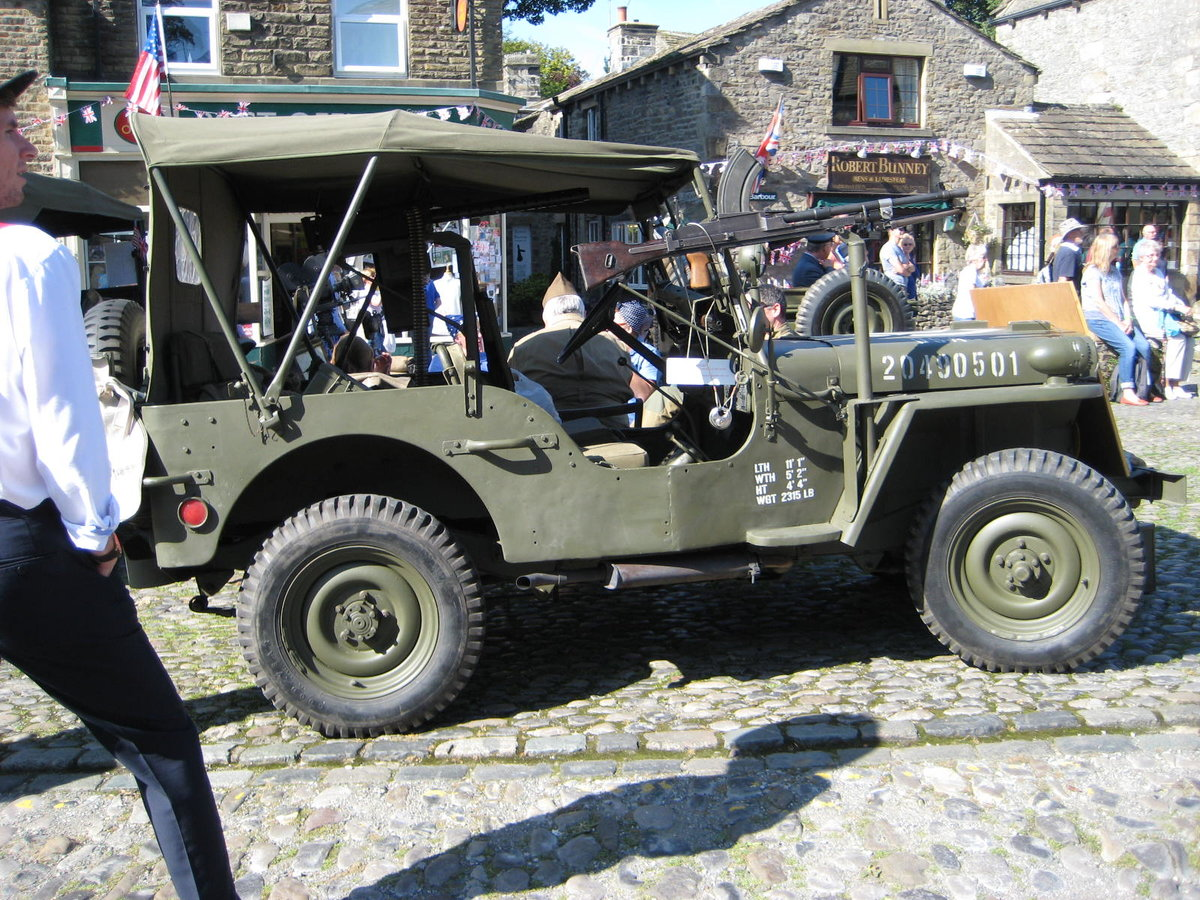 1960 Willys-Hotchkiss WW2 dressed Jeep For Sale (picture 4 of 6)