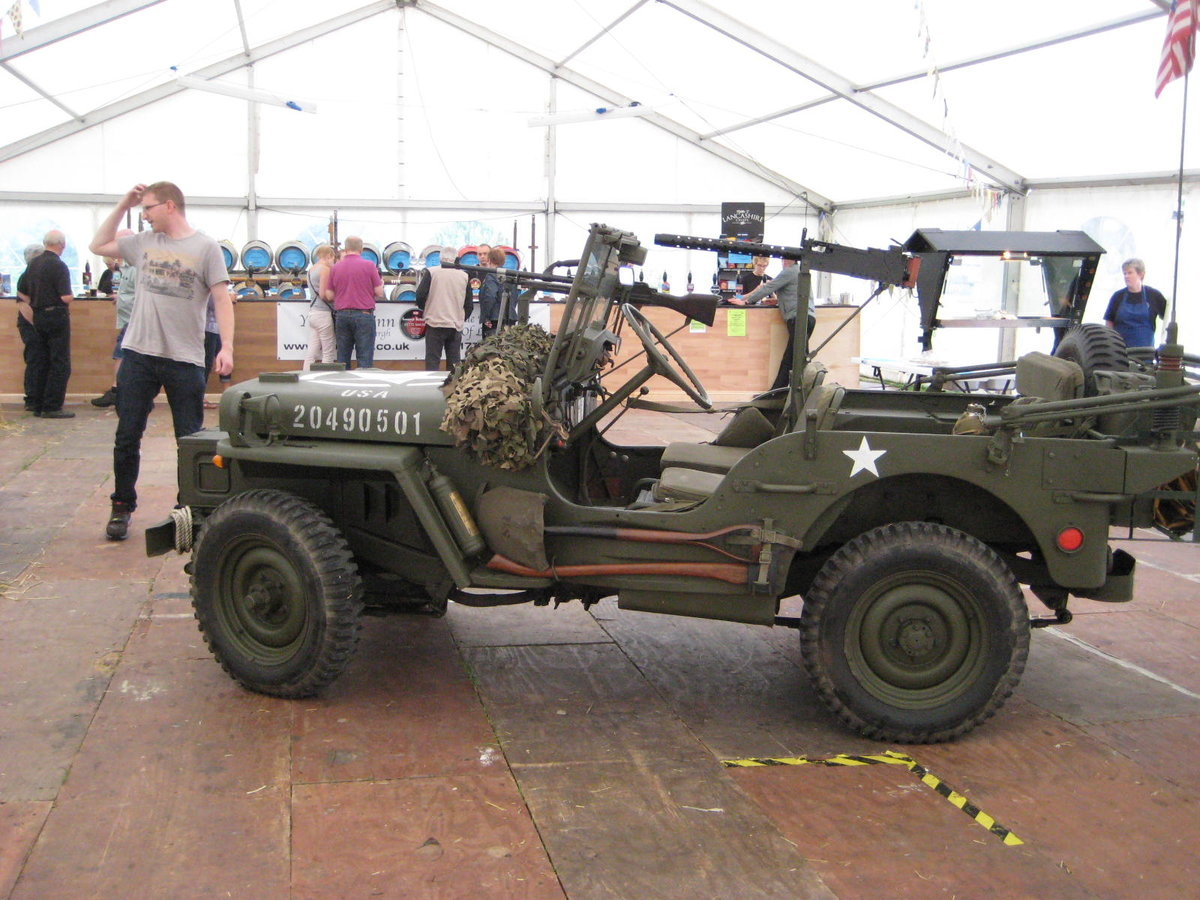1960 Willys-Hotchkiss WW2 dressed Jeep For Sale (picture 5 of 6)
