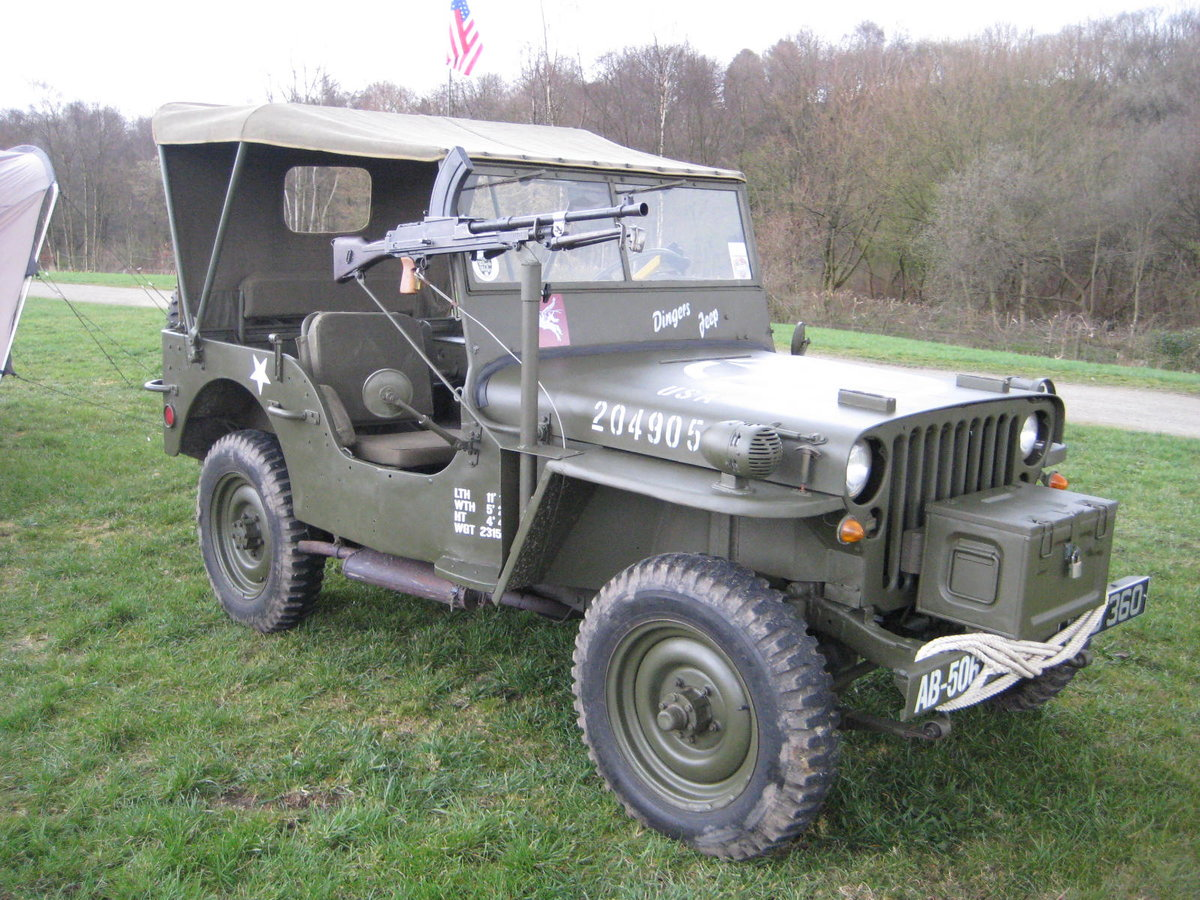 1960 Willys-Hotchkiss WW2 dressed Jeep For Sale (picture 6 of 6)