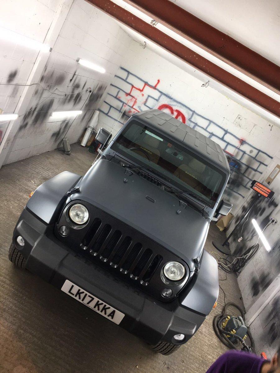 2017 Jeep Wrangler Sahara V6 3.6 Petrol For Sale (picture 1 of 6)