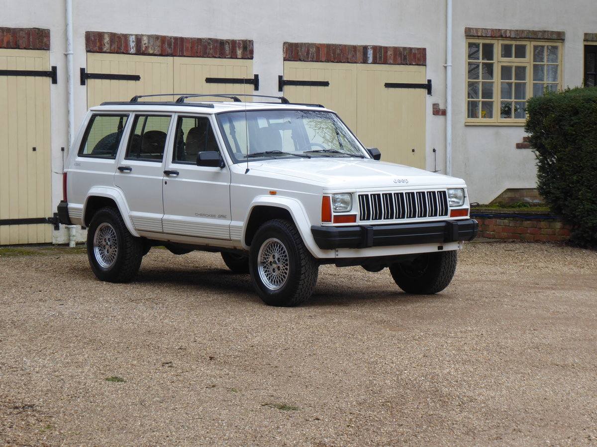 1996 Jeep Cherokee XJ 4.0 Rare Manual ! Low Mileage For Sale (picture 1 of 6)