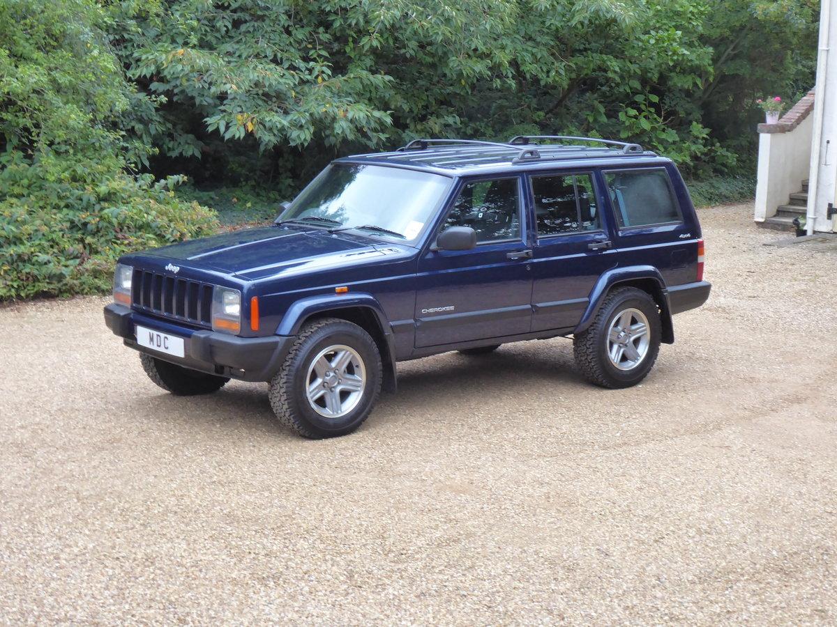 2000 Jeep XJ 4.0 17k miles SOLD