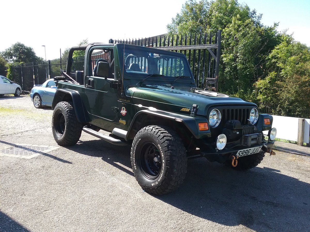 1998 Jeep Wranger £1000's Spent Superb For Sale (picture 1 of 6)