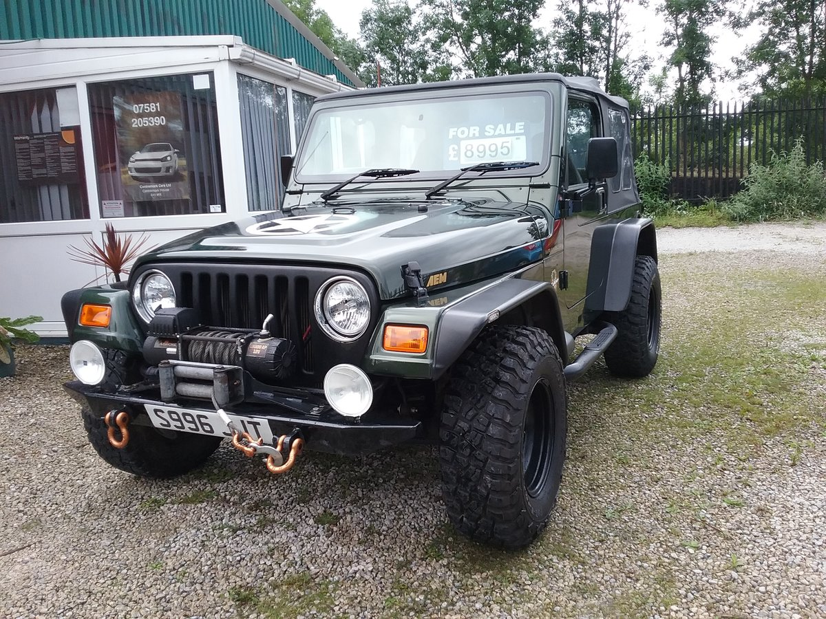 1998 Jeep Wranger £1000's Spent Superb For Sale (picture 3 of 6)