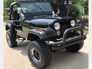 1986 Jeep CJ7  For Sale by Auction