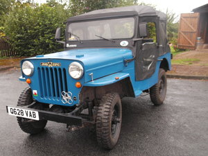 Willys Ebro Jeep
