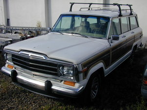 1990 JEEP GRAND WAGONEER 5.9 (WOODY) PROJECT - LHD - EX JAPAN!!