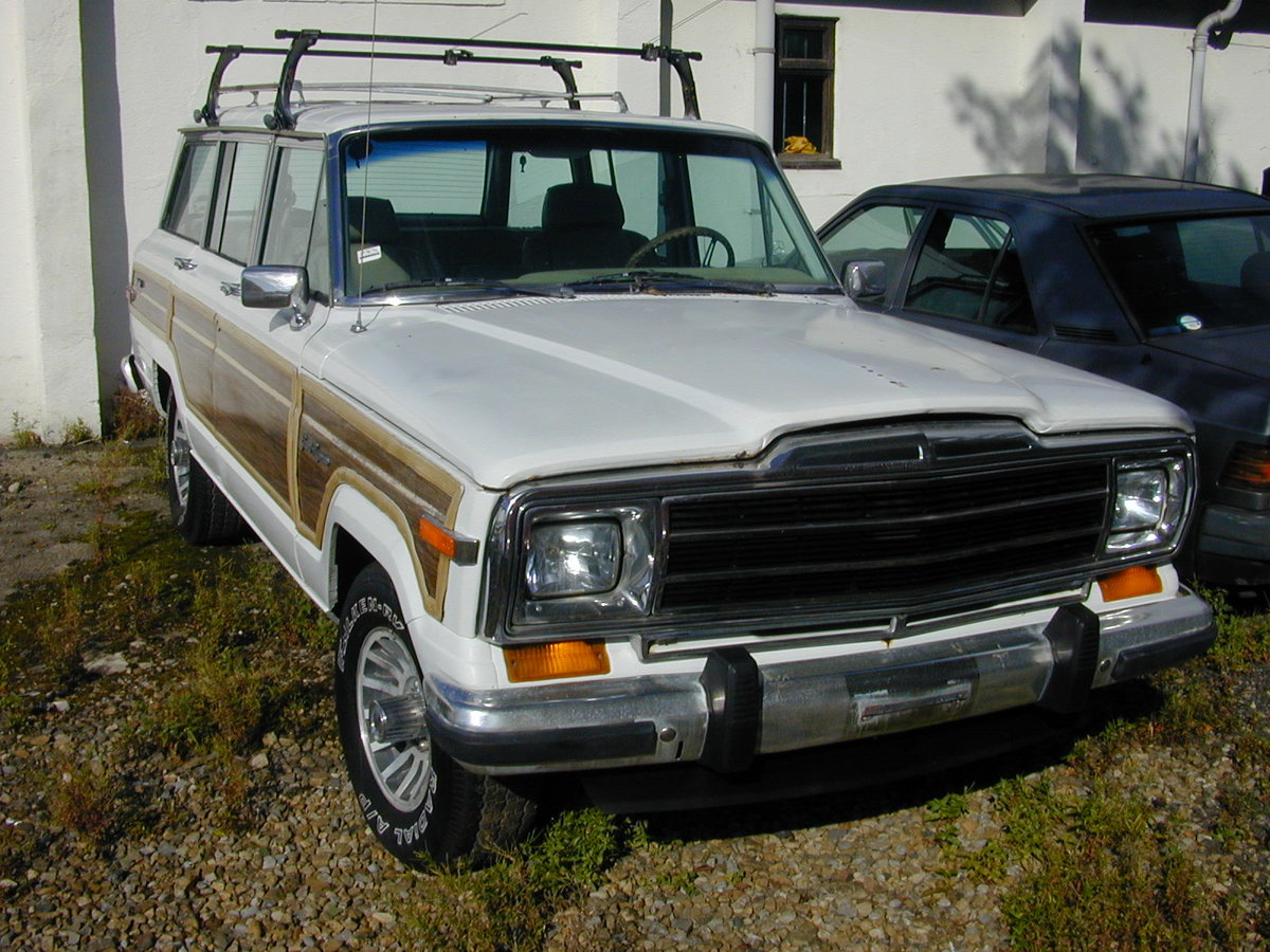 1990 JEEP GRAND WAGONEER 5.9 (WOODY) PROJECT - LHD - EX JAPAN!! For Sale (picture 2 of 6)