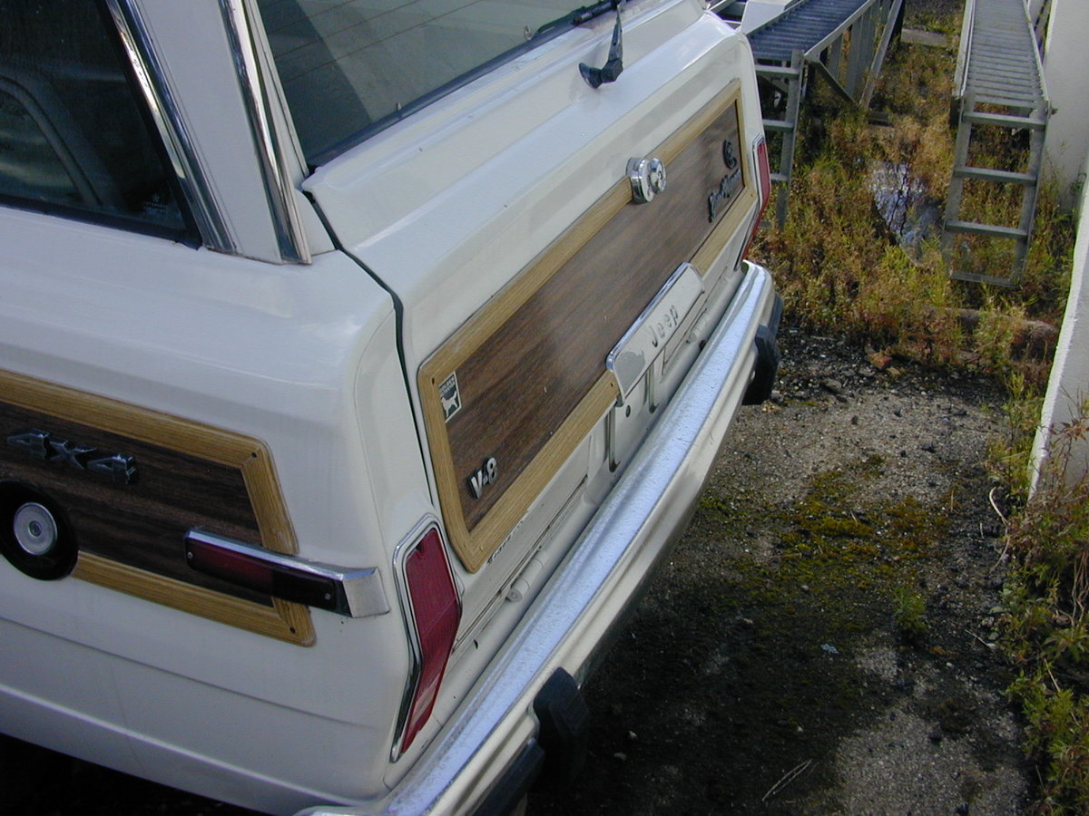 1990 JEEP GRAND WAGONEER 5.9 (WOODY) PROJECT - LHD - EX JAPAN!! For Sale (picture 3 of 6)