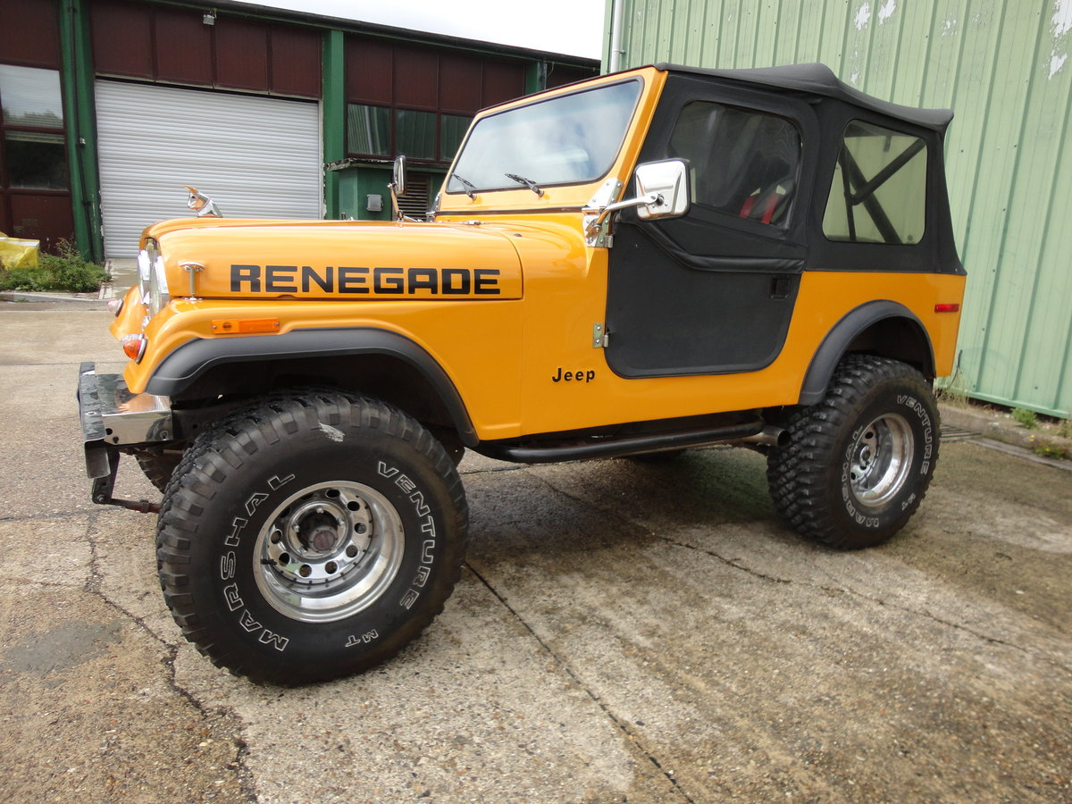 1978 Jeep Renegade 5.9L V8 Manual RHD For Sale (picture 2 of 6)