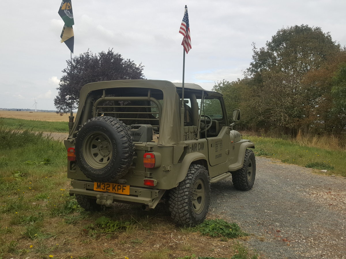 "1995 Jeep Wrangler ""Army"" 4.0l Manual For Sale (picture 2 of 6)"