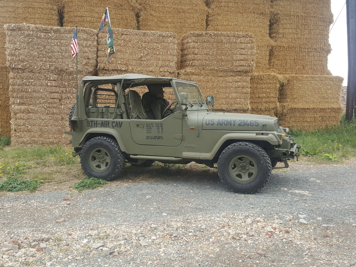 "1995 Jeep Wrangler ""Army"" 4.0l Manual For Sale (picture 3 of 6)"