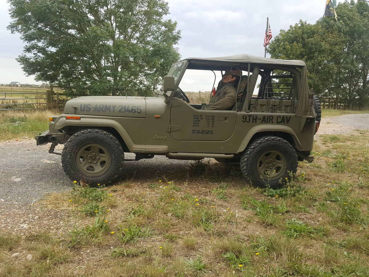 "1995 Jeep Wrangler ""Army"" 4.0l Manual For Sale (picture 6 of 6)"