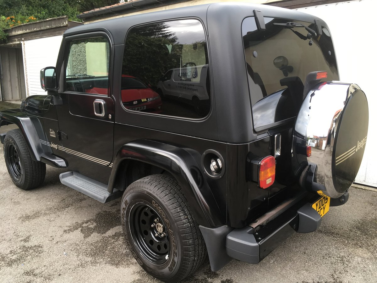 2005 Jeep Wrangler Sahara 4.0 Auto TJ from Japan, 56k miles SOLD (picture 4 of 6)