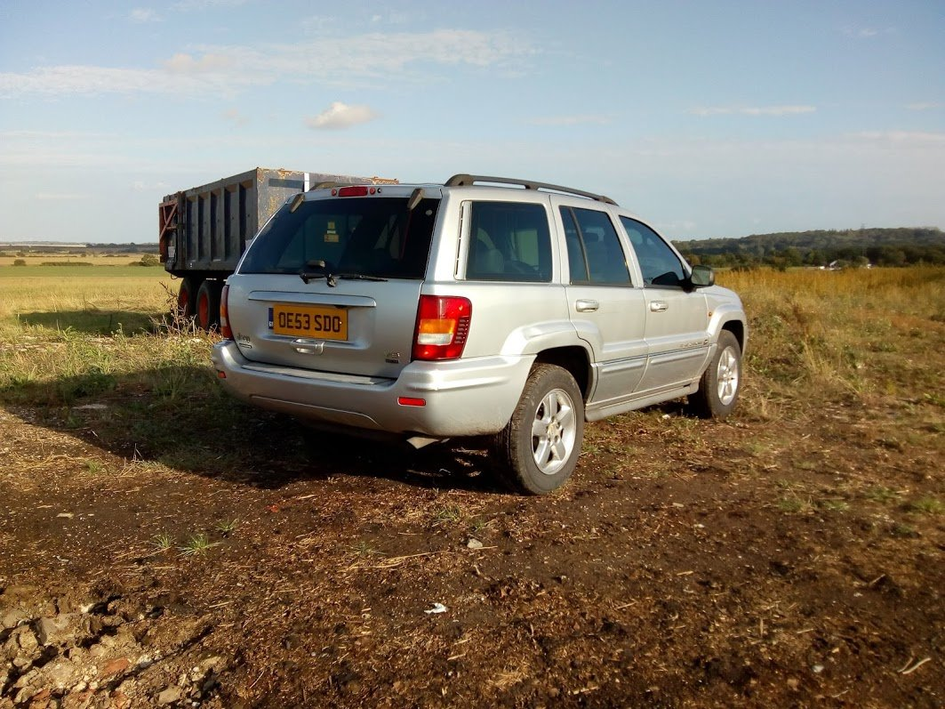 2003 Jeep Grand Cherokee Overland 4.7 V8 For Sale (picture 2 of 6)