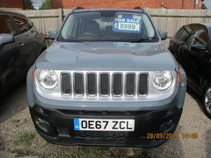 2018 REG JEEP 12,900 MILES ONLY CAT  N NOW REPAIRED VALUE For Sale