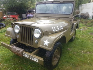 1955 Willys JEEP CJ5 from Arizona.... M38A1 replic For Sale