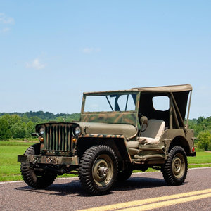 1948 Jeep Willy GPW 134 CID 4x4 Go Clean Army Green $13.5k