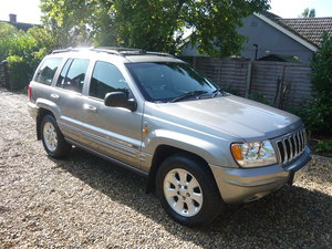 2002 Jeep Grand Cherokee V8 60th Anniversary Edition For Sale