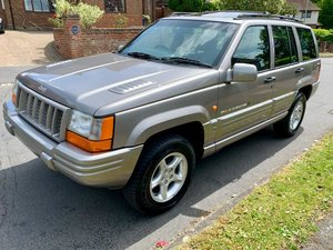 1998 19,000 miles from new Jeep Grand Cherokee 4.0 Orvis
