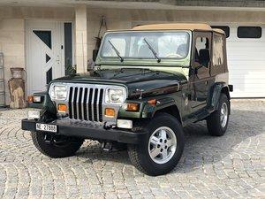 1996 Exceptionnel, Jeep Wrangler YJ Sahara, 4L HO, état collectio