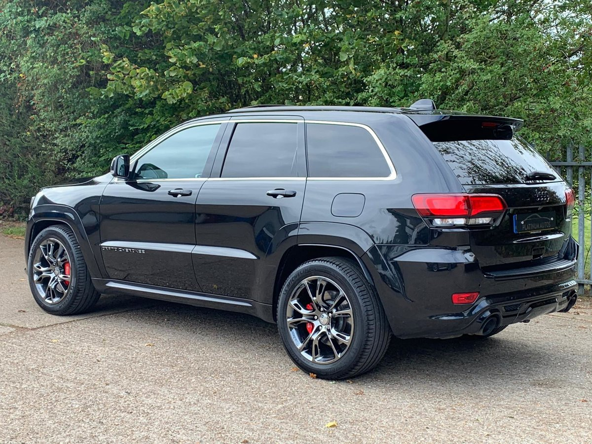 2013 JEEP GRAND CHEROKEE 6.4 HEMI SRT8 5D AUTO 461 BHP For Sale (picture 3 of 5)
