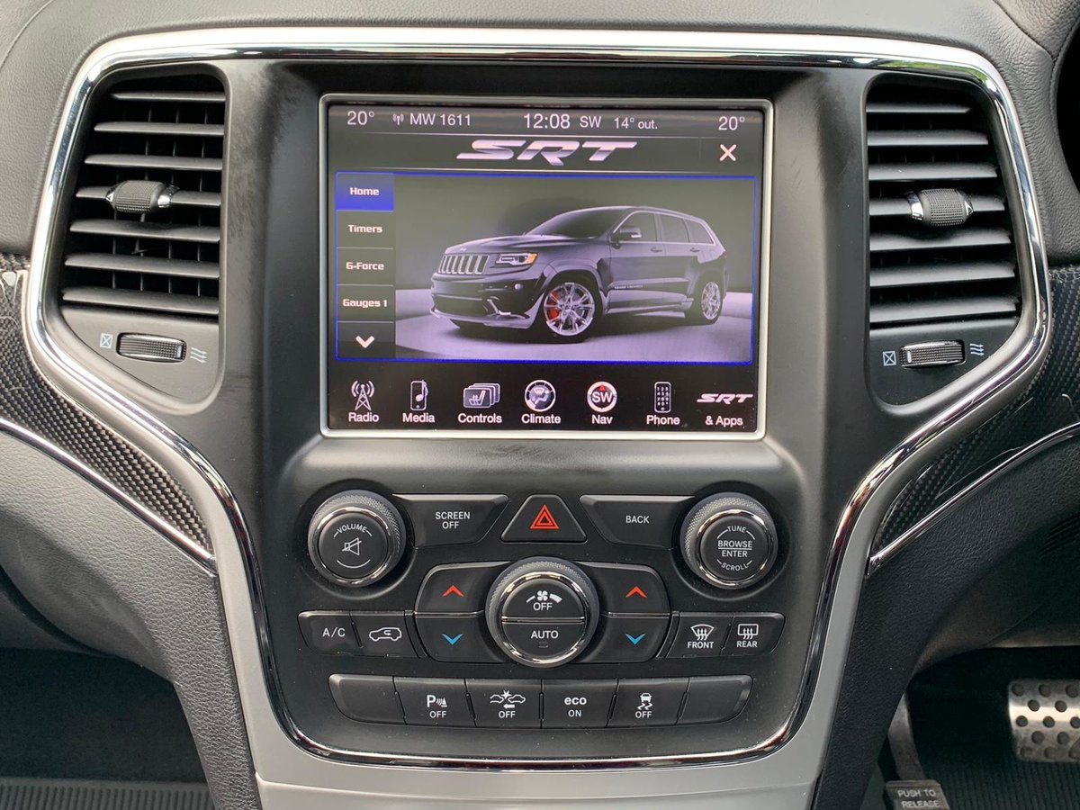 2013 JEEP GRAND CHEROKEE 6.4 HEMI SRT8 5D AUTO 461 BHP For Sale (picture 5 of 5)